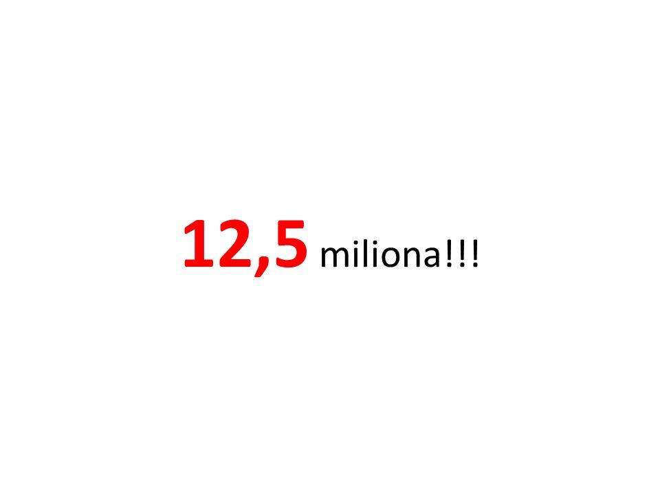 12,5 miliona!!!