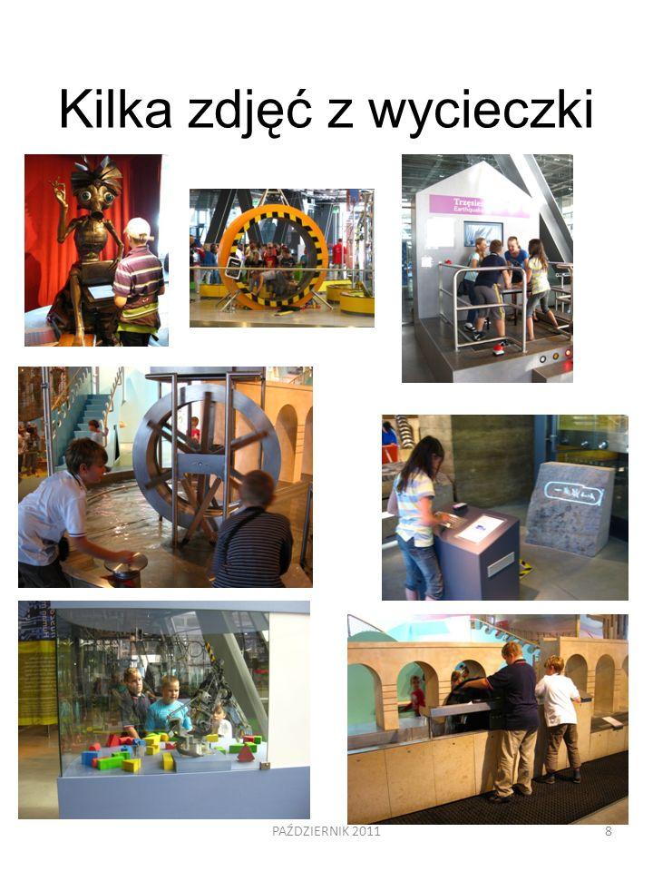 Kilka zdjęć z wycieczki PAŹDZIERNIK 20118