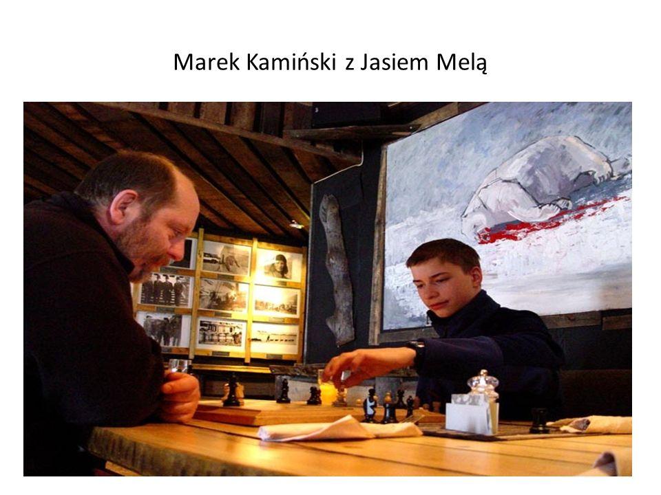 Marek Kamiński z Jasiem Melą