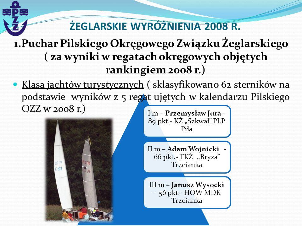 I m – Przemysław Jura – 89 pkt.- KŻ Szkwał PLP Piła II m – Adam Wojnicki - 66 pkt.- TKŻ,,Bryza Trzcianka III m – Janusz Wysocki - 56 pkt.- HOW MDK Trz