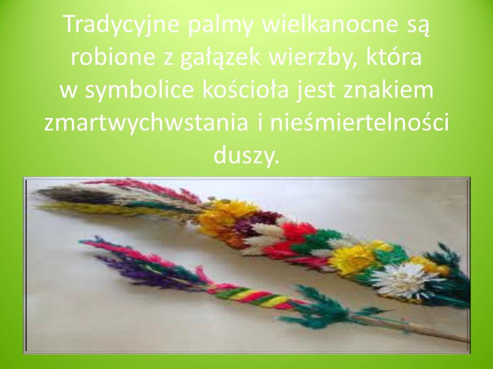 Wielki Tydzień rozpoczyna się Niedzielą Palmową. Zwana kiedyś kwietniową lub wierzbną symbolizuje uroczysty wjazd Jezusa Chrystusa do Jerozolimy.