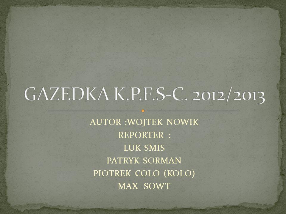 GAZETKA WAZNA DO : 12/10/2012