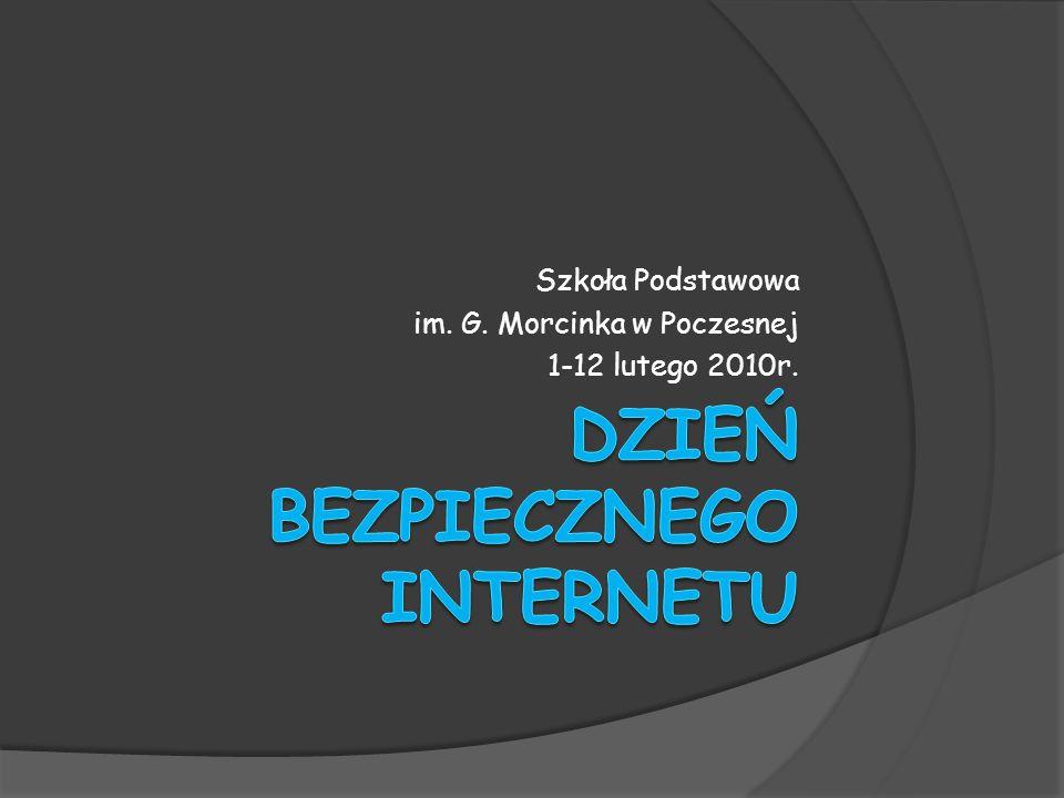 Szkoła Podstawowa im. G. Morcinka w Poczesnej 1-12 lutego 2010r.