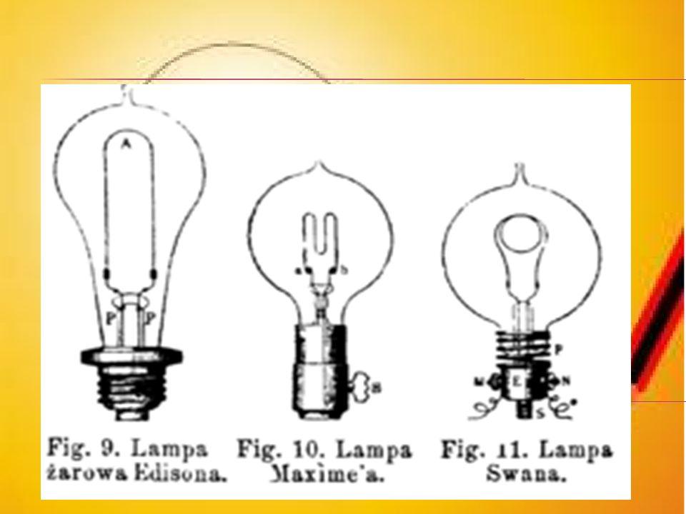 Wynalazców żarówek było kilku, ale praktyczną, w pełni użyteczną żarówkę wynalazł zespół badawczy w laboratorium w Menlo Park (USA) pod kierownictwem