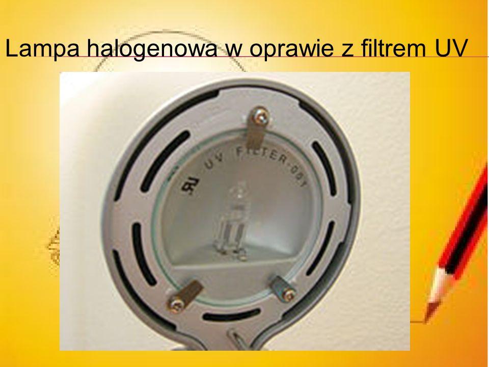 Jakie są zalety i wady żarówek halogenowych Zalety: wytwarzają do 33% więcej światła zużywając tyle samo energii elektrycznej, świeca takim samym świa