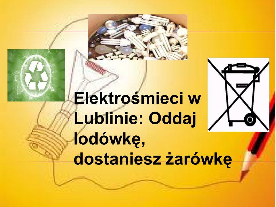 Elektrośmieci – to zepsute sprzęty elektroniczne które zasilane są przez prąd. P rzykładem elektro śmieci są żarówki w których znajdują się szkodliwe