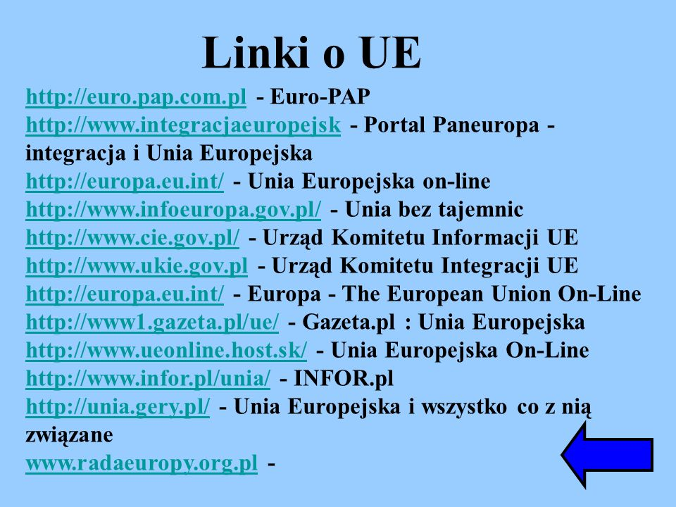 http://euro.pap.com.plhttp://euro.pap.com.pl - Euro-PAP http://www.integracjaeuropejskhttp://www.integracjaeuropejsk - Portal Paneuropa - integracja i