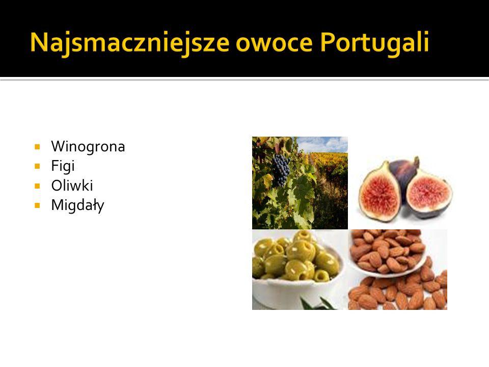 Winogrona Figi Oliwki Migdały
