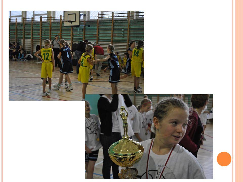 Klasa sportowa ogólnopolskie i międzynarodowe turnieje minikoszykówki dziewcząt i chłopców