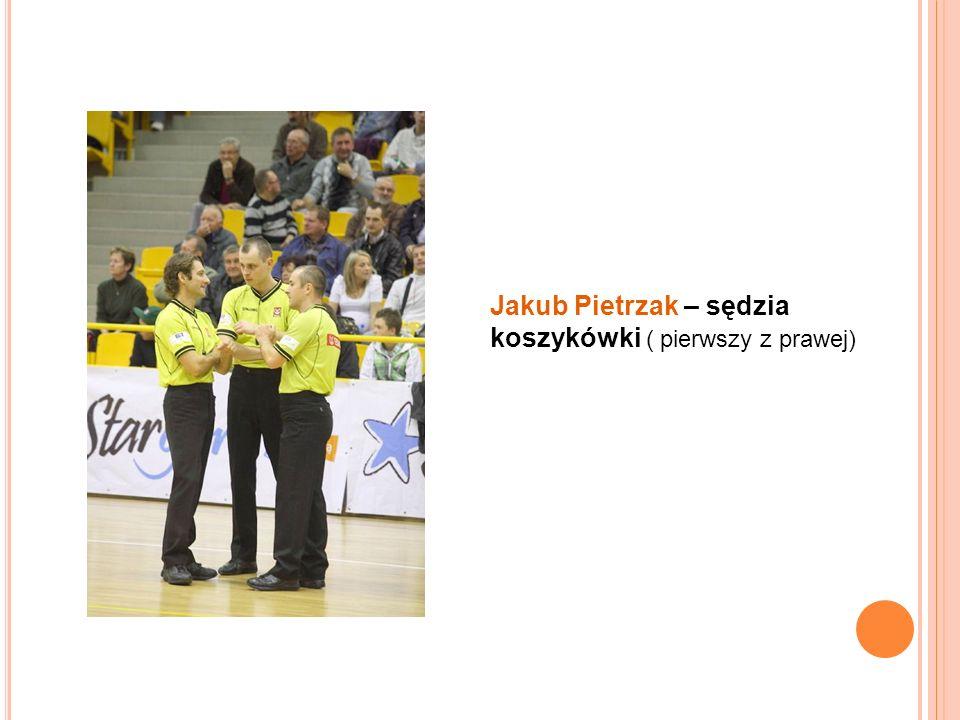 Adrianna Gawryńska – sędzia koszykówki studentka UWM w Olsztynie – Wydział Gospodarki Przestrzennej