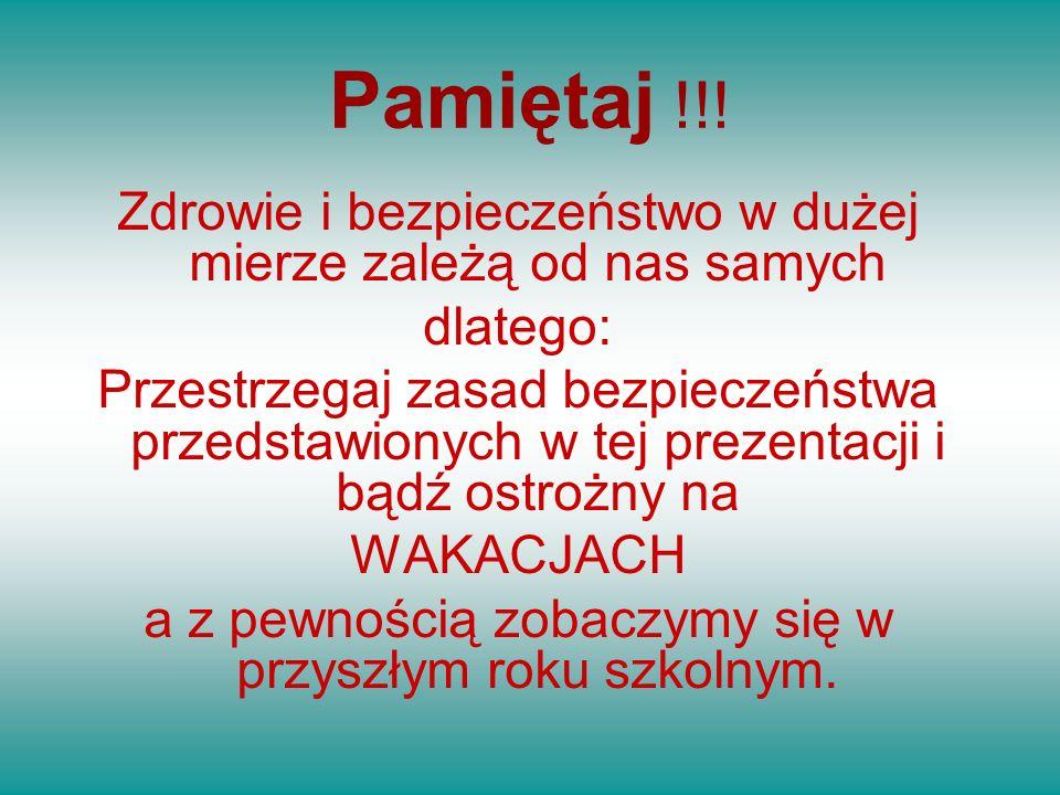 Pamiętaj !!.