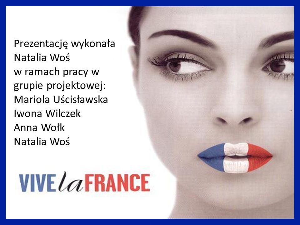 Prezentację wykonała Natalia Woś w ramach pracy w grupie projektowej: Mariola Uścisławska Iwona Wilczek Anna Wołk Natalia Woś