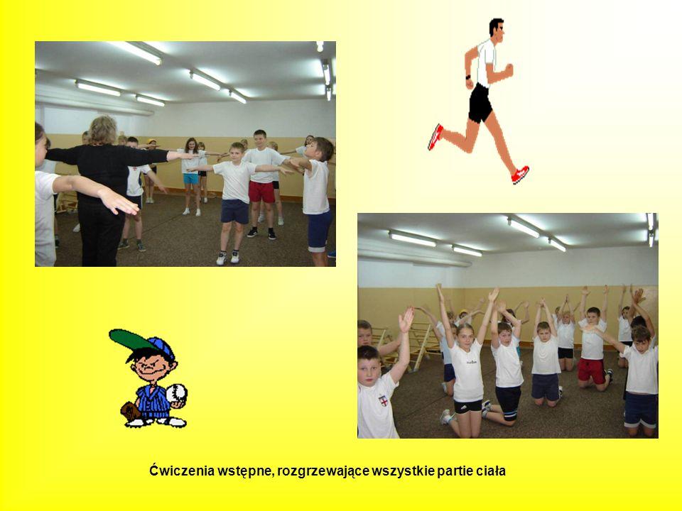 Ćwiczenia wstępne, rozgrzewające wszystkie partie ciała
