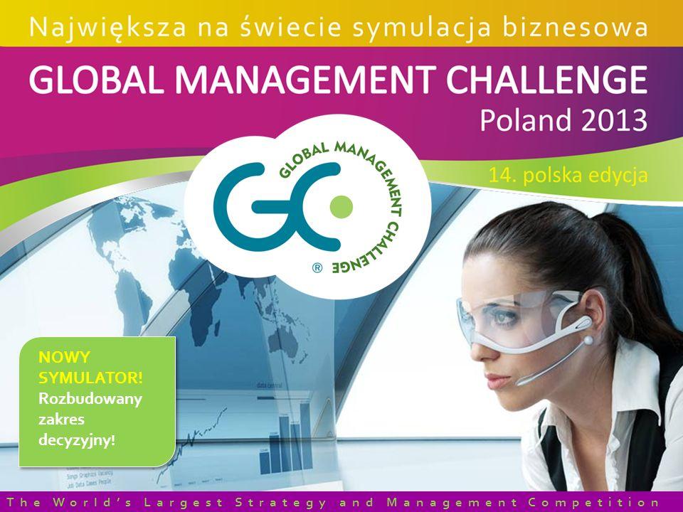 NOWY SYMULATOR! Rozbudowany zakres decyzyjny ! The Worlds Largest Strategy and Management Competition