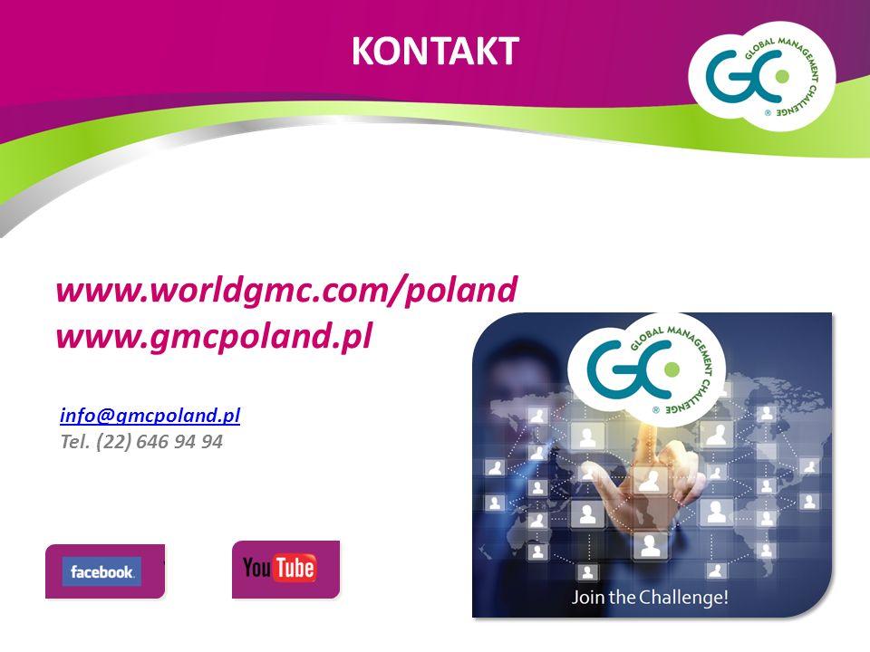 info@gmcpoland.pl Tel. (22) 646 94 94 www.worldgmc.com/poland www.gmcpoland.pl KONTAKT