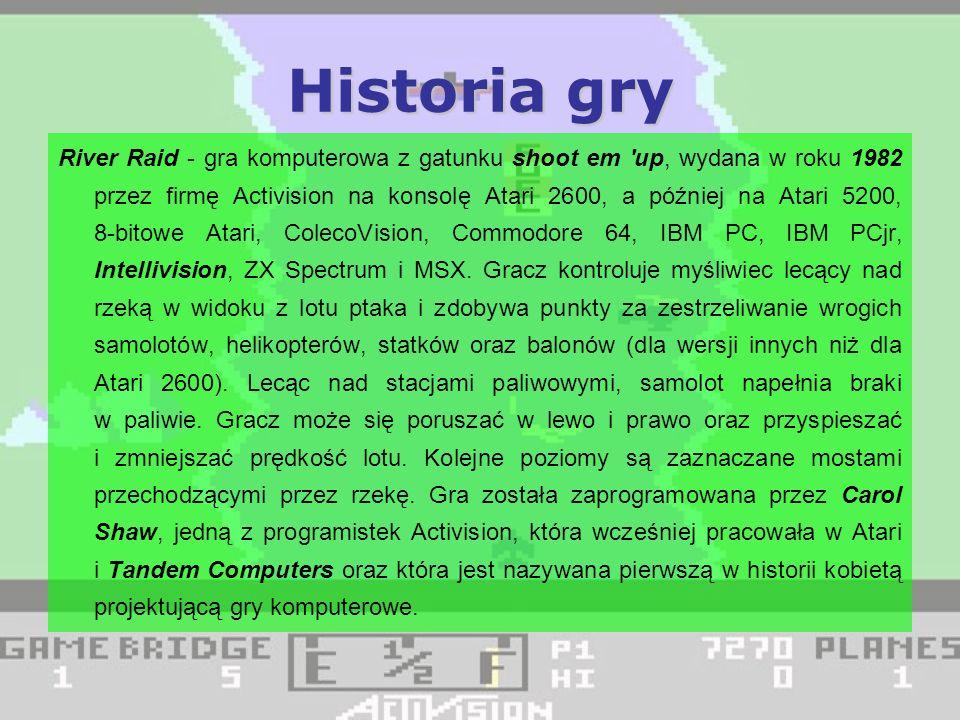 Wersje na różne komputery Wersja na ATARI Wersja na ZX SPECTRUM Wersja na COMMODORE 64