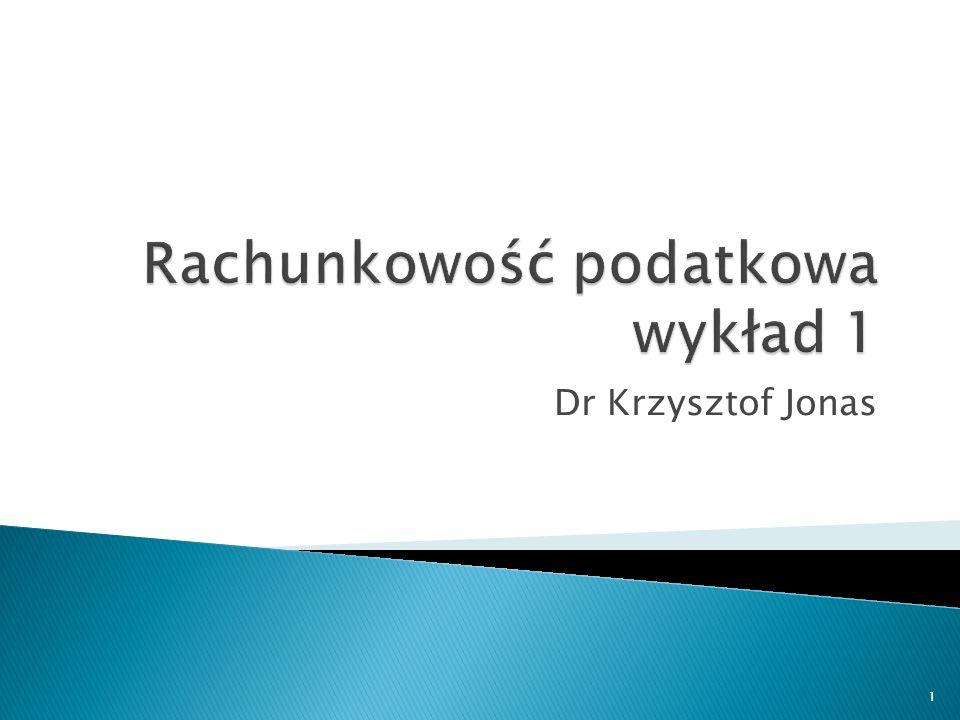 Dr Krzysztof Jonas 1