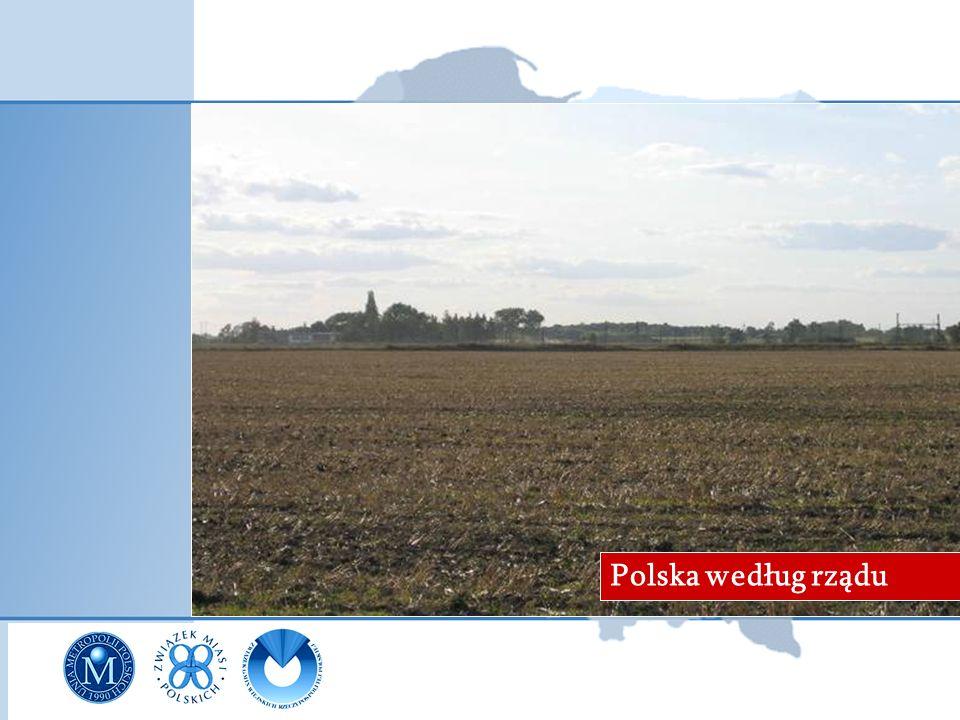 Polska według samorządów Polska według rządu