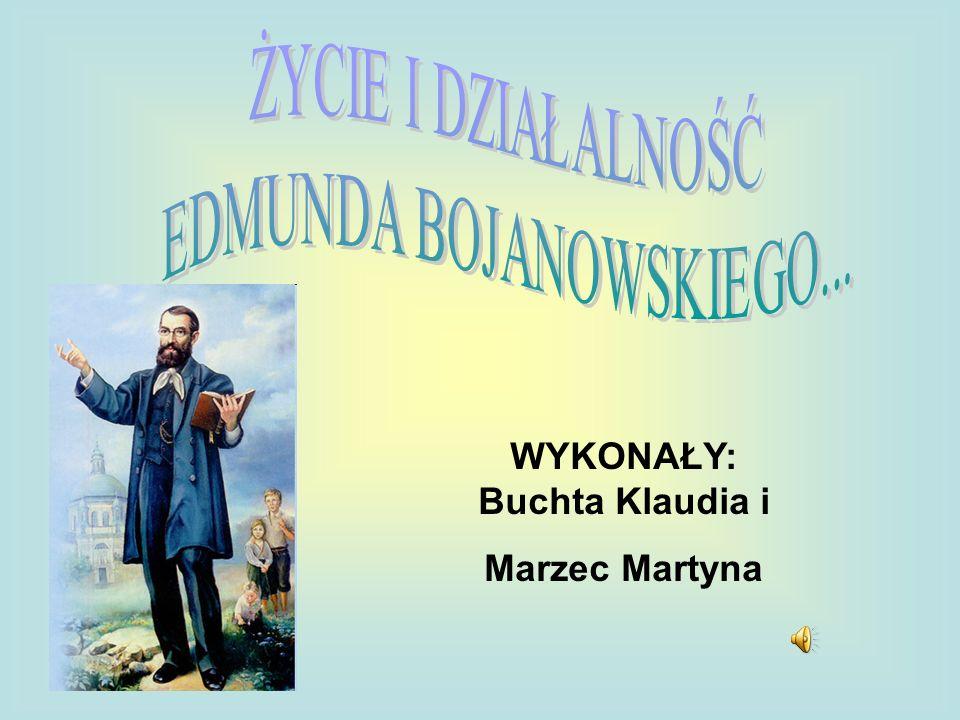 WYKONAŁY: Buchta Klaudia i Marzec Martyna
