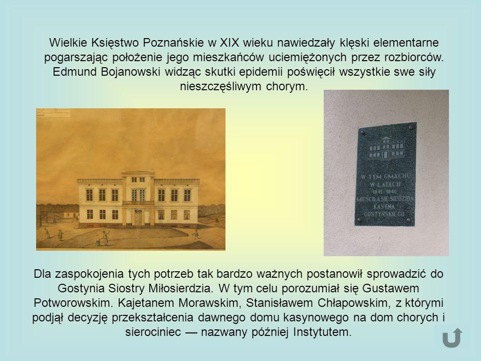 Wielkie Księstwo Poznańskie w XIX wieku nawiedzały klęski elementarne pogarszając położenie jego mieszkańców uciemiężonych przez rozbiorców. Edmund Bo