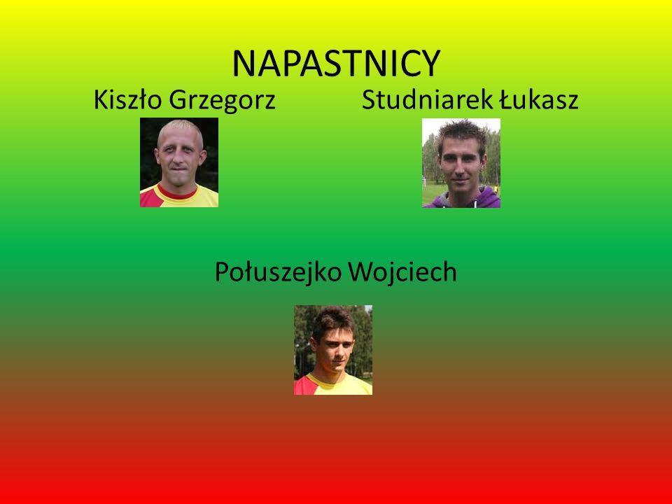 NAPASTNICY Kiszło Grzegorz Studniarek Łukasz Połuszejko Wojciech