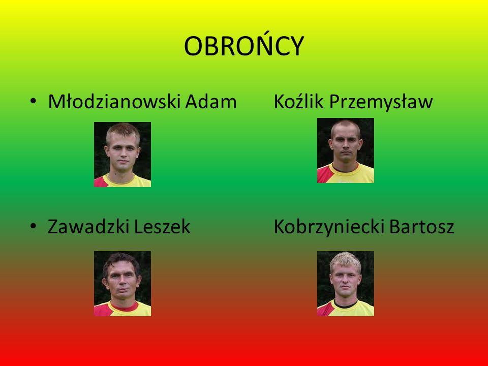 OBROŃCY Młodzianowski Adam Koźlik Przemysław Zawadzki Leszek Kobrzyniecki Bartosz