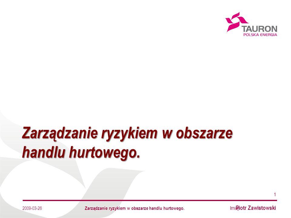Imię Nazwisko Autora Dziękuję za uwagę Tauron Polska Energia S.A., ul.