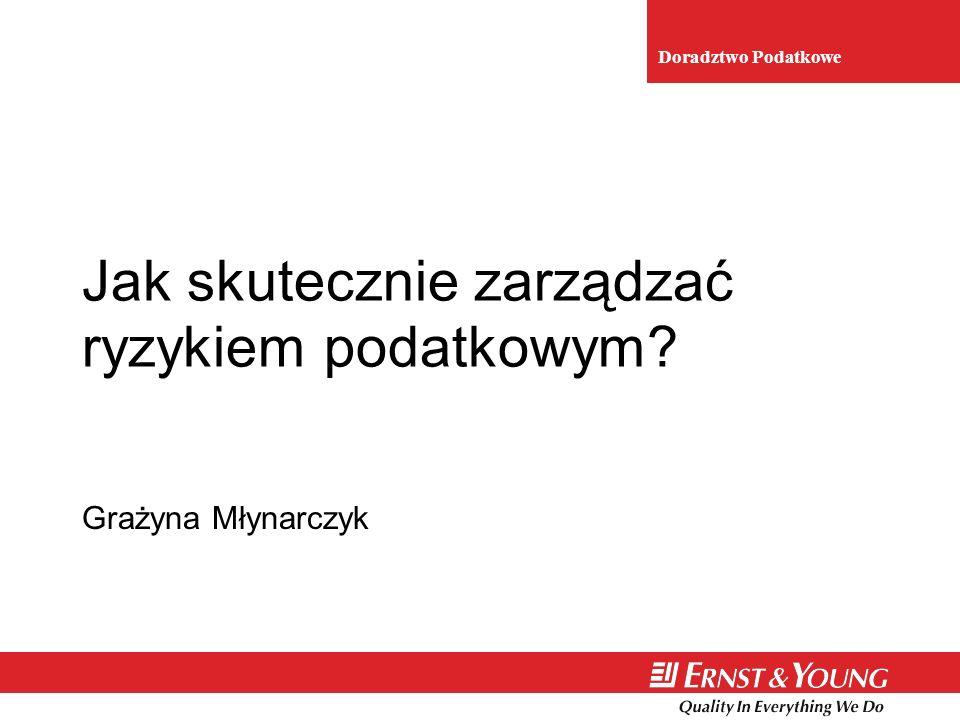 3 Plan prezentacji n Czynniki kształtujące ryzyko podatkowe n Ryzyko podatkowe w Polsce – wybrane statystyki n Metody zarządzania ryzykiem podatkowym