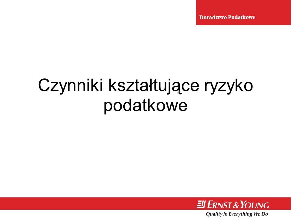 6 Złożoność prawa podatkowego Odpowiedzialność karnoskarbowa Sprawozdawczość finansowa Złożoność prawa podatkowego Odpowiedzialność karnoskarbowa Sprawozdawczość finansowa Zwiększone wymogi regulacyjne (na przykład uregulowania SOX, projekt VIII Dyrektywy) Nacisk na ład korporacyjny Rosnące oczekiwania udziałowców Odpowiedzialność podmiotów zbiorowych Zwiększone wymogi regulacyjne (na przykład uregulowania SOX, projekt VIII Dyrektywy) Nacisk na ład korporacyjny Rosnące oczekiwania udziałowców Odpowiedzialność podmiotów zbiorowych Przed SOXPo SOX + TRADYCYJNENOWE