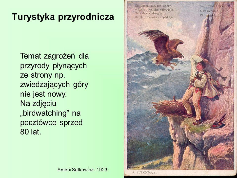 Leśnicy a turystyka w przeszłości Wyjazdy wypoczynkowo-poznawcze związane z lasem - Sylwan z 1912 r., - rozprawa Cyryla Kochanowskiego pt.