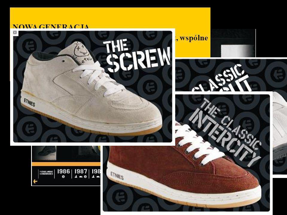 NOWA GENERACJA Etnies zaczyna produkcję nowych butów Lo-cut, wspólne dzieło Pierre i Don Browna, rozpoczynające erę nowych butów low- top skate shoes.