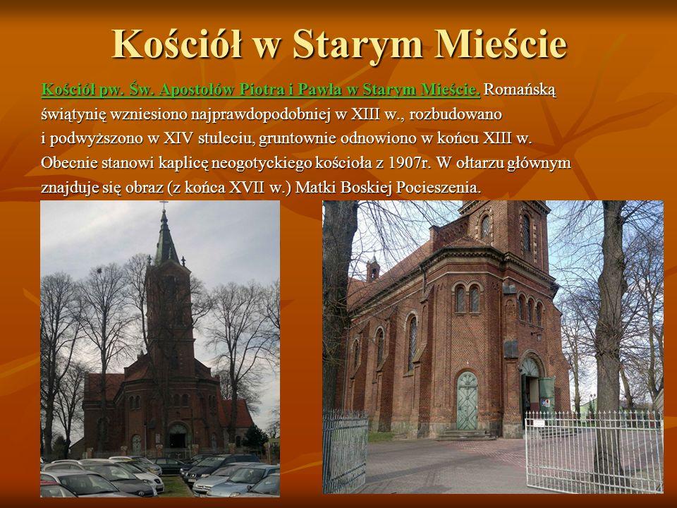 Dwór Bronikowskich w Żychlinie W parku znajduje się zbudowany ok..