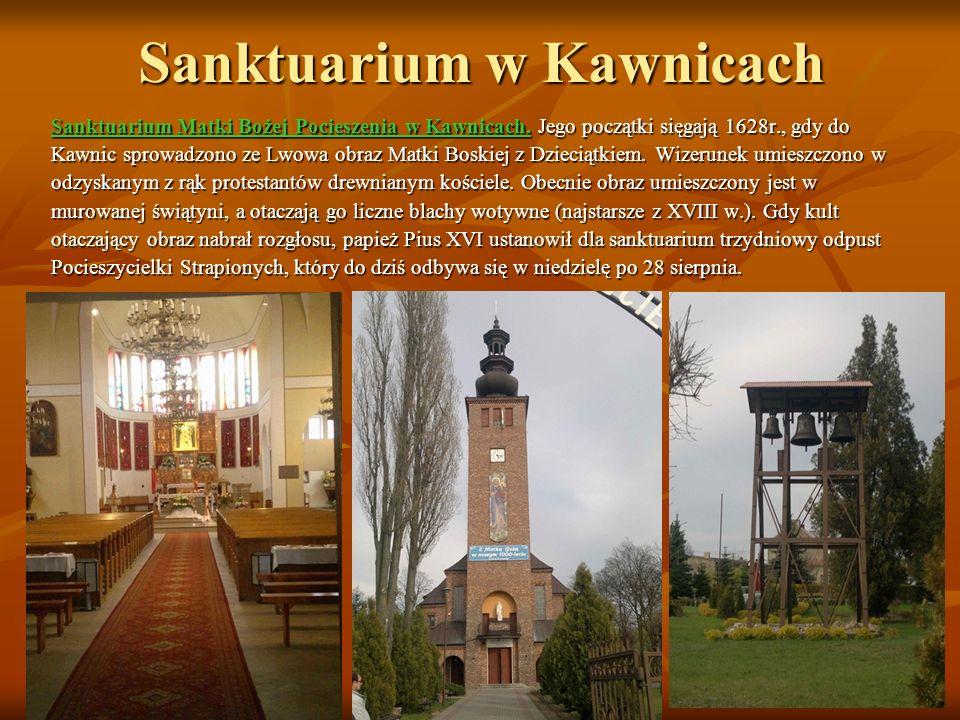 Sanktuarium Matki Bożej Królowej Polski w Starym Licheniu Jest to jedno z trzech najczęściej odwiedzanych miejsc pielgrzymkowych w Polsce.