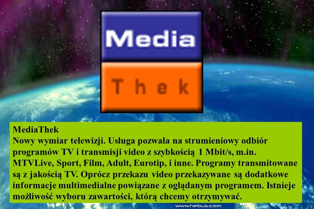 MediaThek Nowy wymiar telewizji.