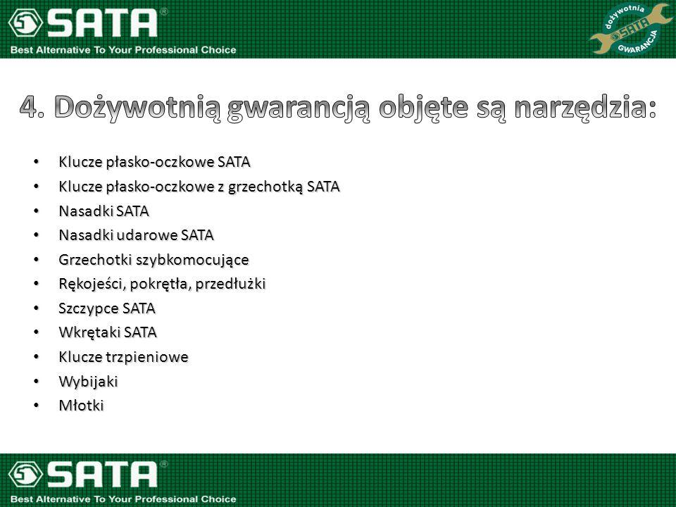 Nasadki typu BIT SATA Nasadki typu BIT SATA Pilniki, wykrętaki, szczelinomierze SATA Pilniki, wykrętaki, szczelinomierze SATA Adaptery /w tym udarowe SATA/ Adaptery /w tym udarowe SATA/ Przedłużki elastyczne SATA Przedłużki elastyczne SATA Uchwyty magnetyczne teleskopowe SATA Uchwyty magnetyczne teleskopowe SATA Przeguby /w tym udarowe SATA/ Przeguby /w tym udarowe SATA/ Szczypce tnące boczne do plastiku SATA Szczypce tnące boczne do plastiku SATA Nożyce do cięcia blachy i śrub, przyrządy do obcinania rur, taśmy miernicze, pistolet do przedmuchiwania, piłki do metalu, ostrza do ww., automatyczne szczypce do zdejmowania izolacji SATA Nożyce do cięcia blachy i śrub, przyrządy do obcinania rur, taśmy miernicze, pistolet do przedmuchiwania, piłki do metalu, ostrza do ww., automatyczne szczypce do zdejmowania izolacji SATA Końcówki zaciskowe do smarownic, przewody giętkie do smarownic SATA Końcówki zaciskowe do smarownic, przewody giętkie do smarownic SATA Opaski do pierścieni tłokowych SATA Opaski do pierścieni tłokowych SATA Wkrętak z wymiennymi końcówkami SATA Wkrętak z wymiennymi końcówkami SATA Próbniki/testery SATA Próbniki/testery SATA Klucz krzyżowy do kół SATA Klucz krzyżowy do kół SATA Młotek z wymiennym końcówkami SATA Młotek z wymiennym końcówkami SATA Mechanizmy zapadkowe w grzechotkach i kluczach dynamometrycznych SATA Mechanizmy zapadkowe w grzechotkach i kluczach dynamometrycznych SATA Części zamienne SATA Części zamienne SATA