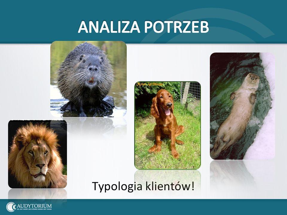 Typologia klientów!