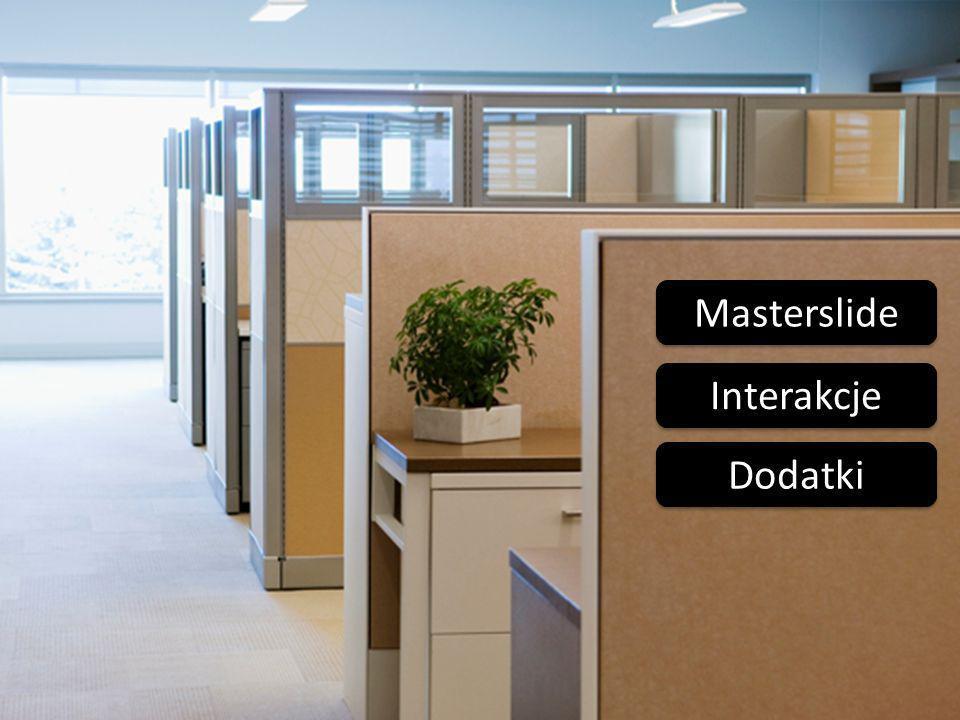 Masterslide Interakcje Dodatki