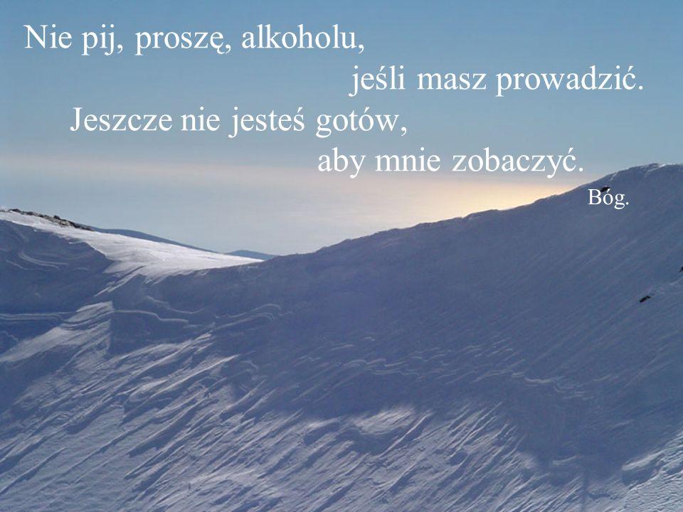 Szukam Cię, odpowiedz mi. Bóg