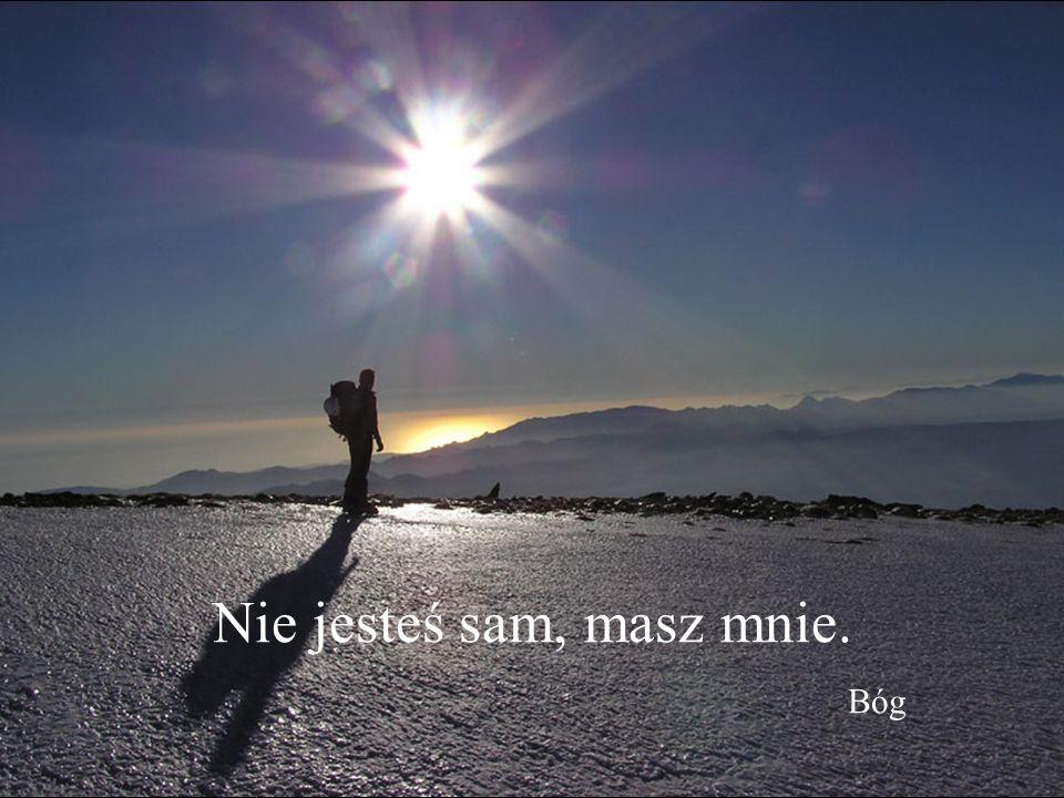 Z przyjemnością poniosę Twój krzyż. Zbliż się. Bóg