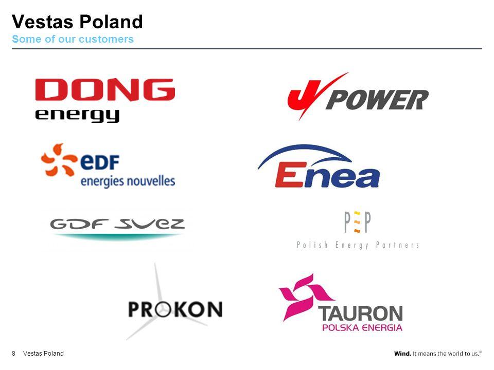 V112-3.0MWV39-500kWV80-2.0MWV90-3.0MWV164-8.0MW 19 Vestas portfolio Od turbin rzędu kW do jednostek MW