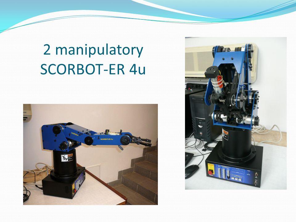 2 manipulatory SCORBOT-ER 4u