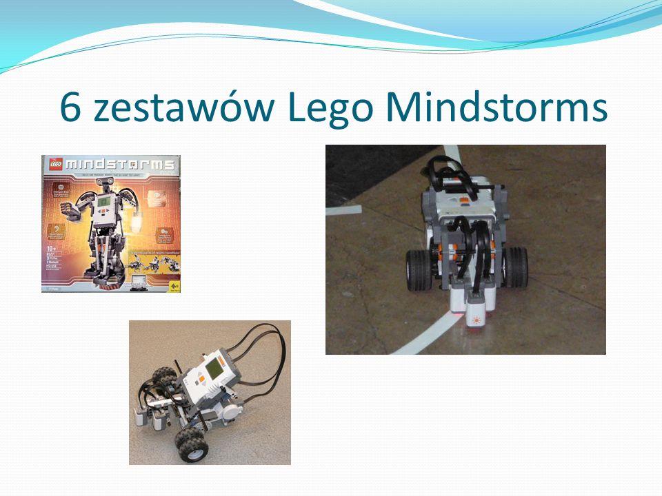 6 zestawów Lego Mindstorms