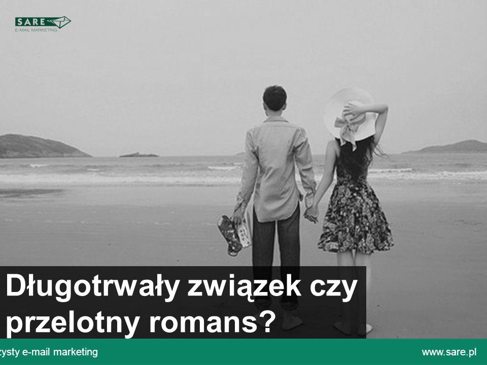 Czysty e-mail marketingwww.sare.pl Długotrwały związek czy przelotny romans?
