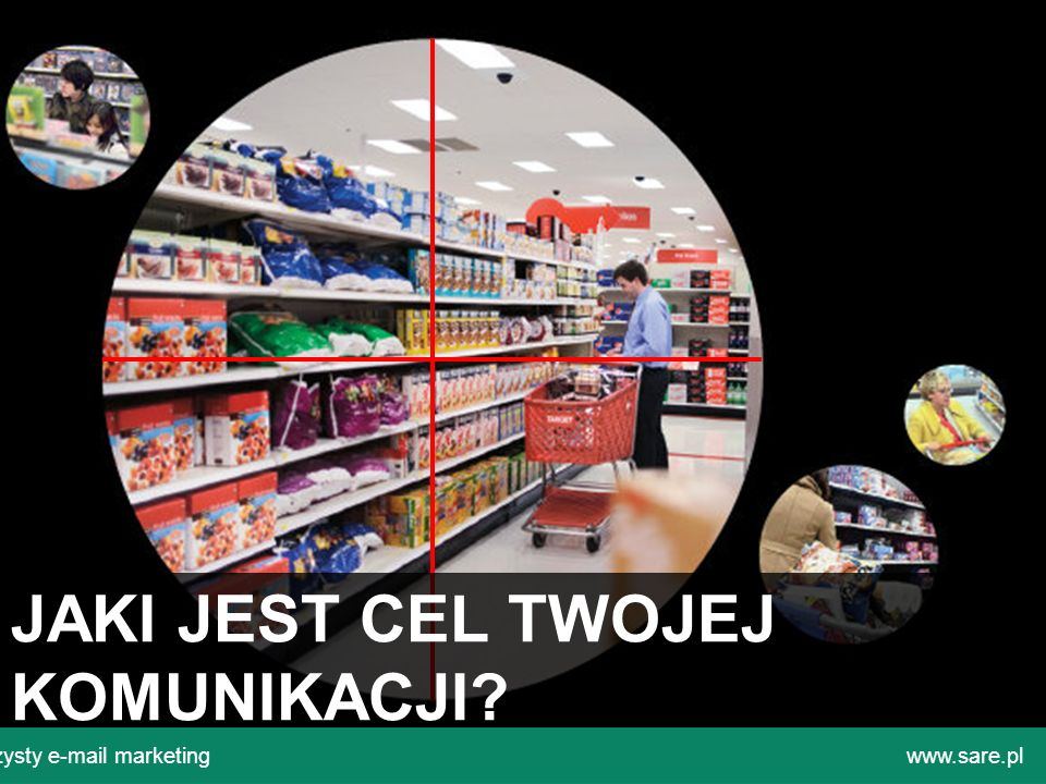 JAKI JEST CEL TWOJEJ KOMUNIKACJI? Czysty e-mail marketingwww.sare.pl
