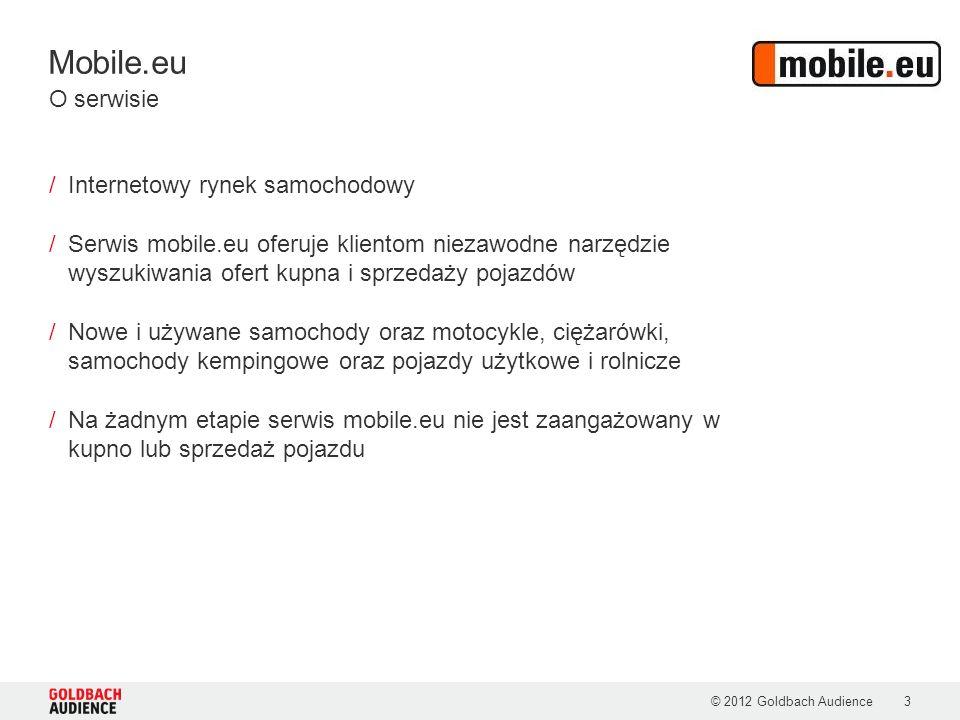 Mobile.eu © 2012 Goldbach Audience3 /Internetowy rynek samochodowy /Serwis mobile.eu oferuje klientom niezawodne narzędzie wyszukiwania ofert kupna i sprzedaży pojazdów /Nowe i używane samochody oraz motocykle, ciężarówki, samochody kempingowe oraz pojazdy użytkowe i rolnicze /Na żadnym etapie serwis mobile.eu nie jest zaangażowany w kupno lub sprzedaż pojazdu O serwisie