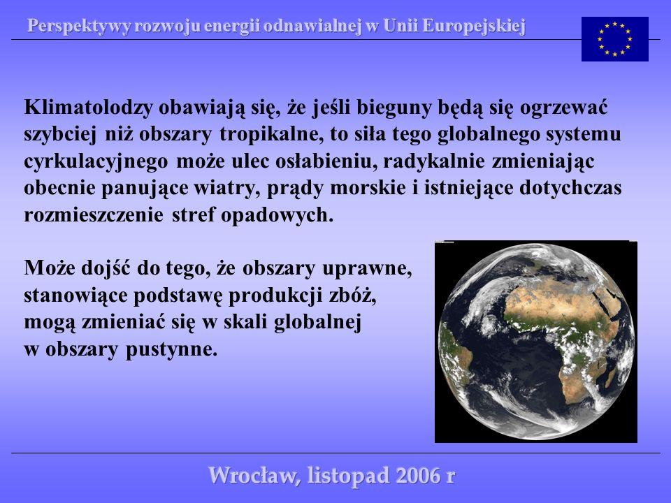 Istnieje także obawa, że rosnące ocieplenie może tak zakłócić oceaniczne systemy cyrkulacyjne, że np.