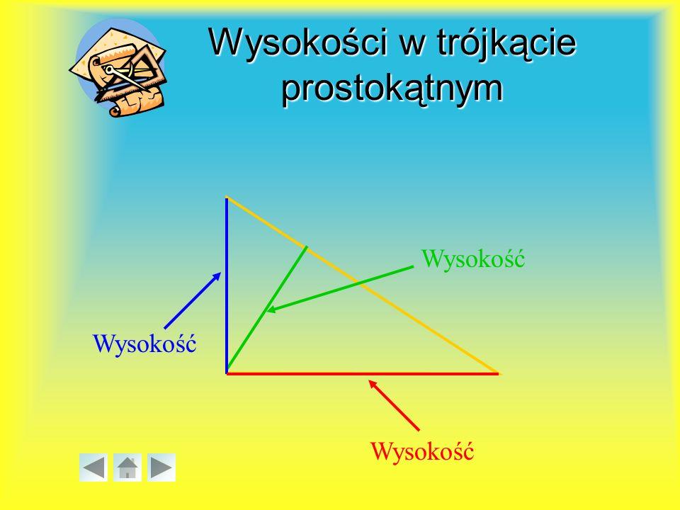 Własności trójkąta równobocznego H Trójkąt równoboczny ma wszystkie boki równej długości i wszystkie kąty równe 60°.