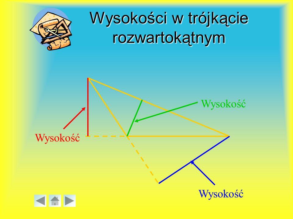 Jeżeli trójkąt jest prostokątny, to kwadrat długości przeciwprostokątnej jest równy sumie kwadratów długości przyprostokątnych.