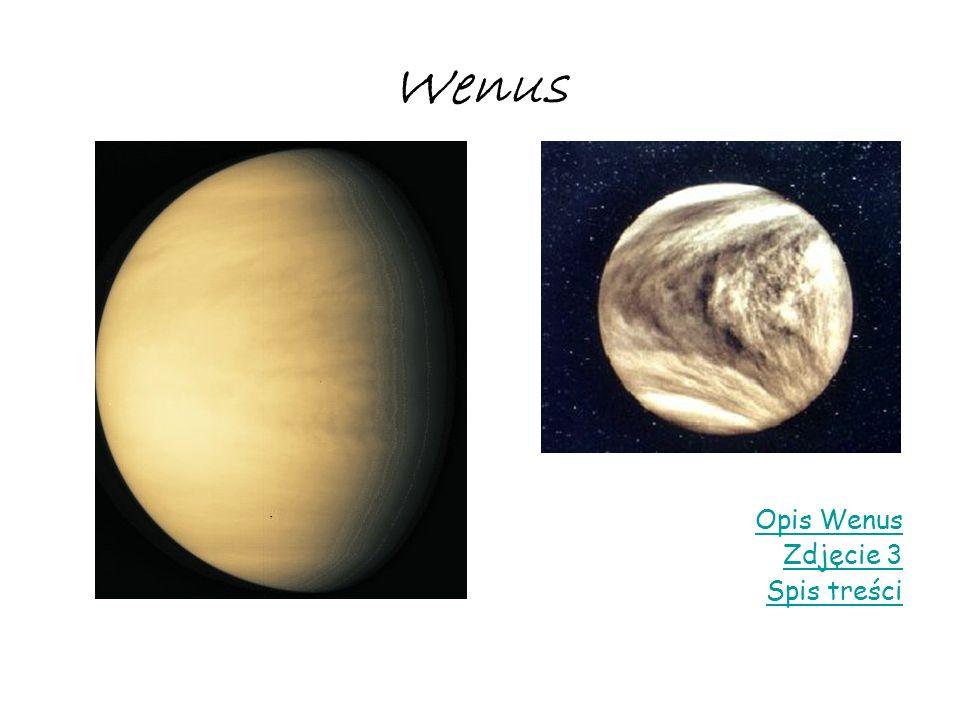 Wenus Opis Wenus Zdjęcie 3 Spis treści