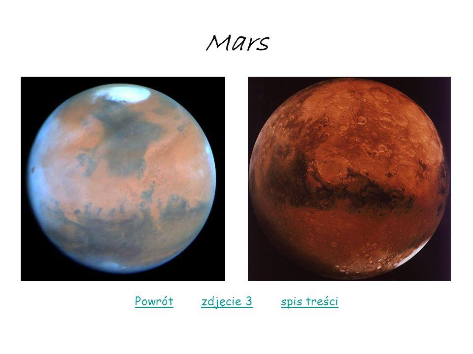 Mars PowrótPowrót zdjęcie 3 spis treścizdjęcie 3spis treści